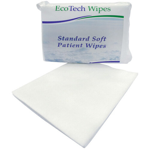 EcoTech Soft Dry Patient Wipes 100 Sheets PWF2000