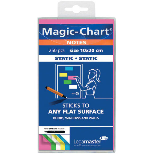 Legamaster Magic Notes 20X10cm Pack of 250 7-159494
