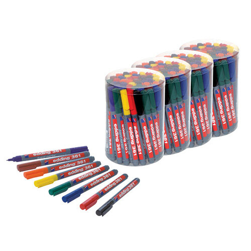Edding 361 Boardmarker Class Assorted Pack of 50 5 for 4 ED810668