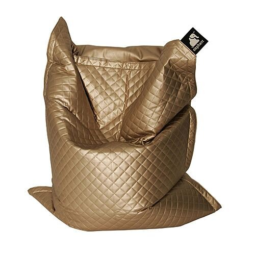 Elephant  Junior Kids Size Bean Bag 1400x1100mm Gold Quilted