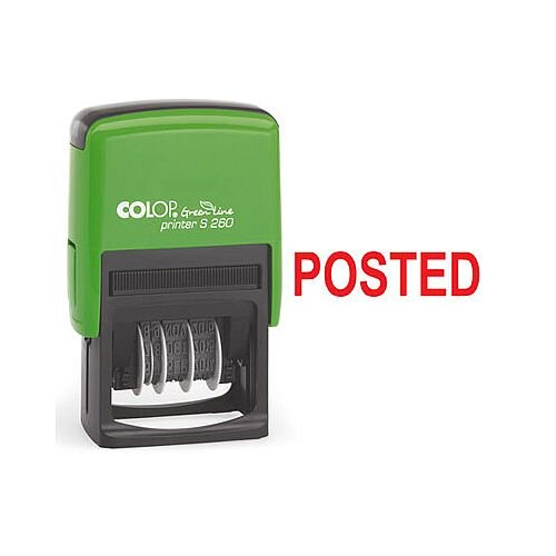 Colop Green Line Word Stamp POSTED GLP20POST