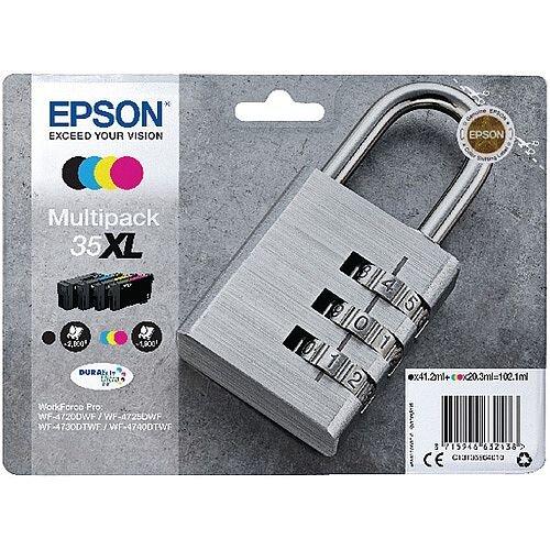 Epson Singlepack 4 Colour 35XL DURABrite Ultra Ink
