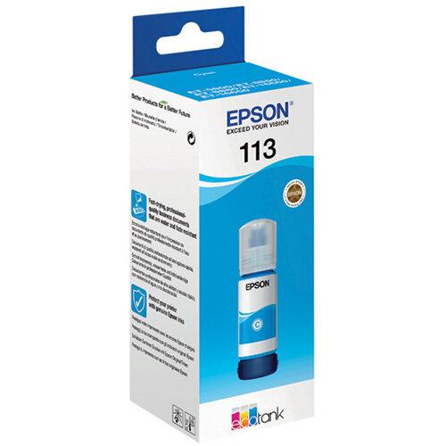 Epson 113 Ecotank Cyan Ink Bottle C13T06B240