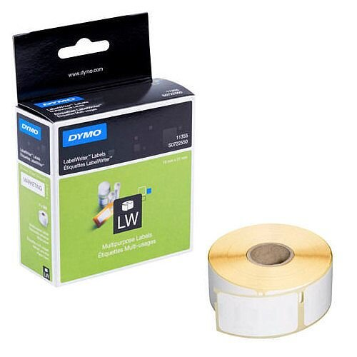 Dymo 11355 LabelWriter Labels Multipurpose 51x19mm Pack 500