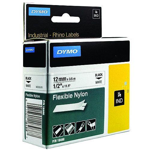 Dymo RhinoPRO 18758 Industrial Tape 12mm White S0718100