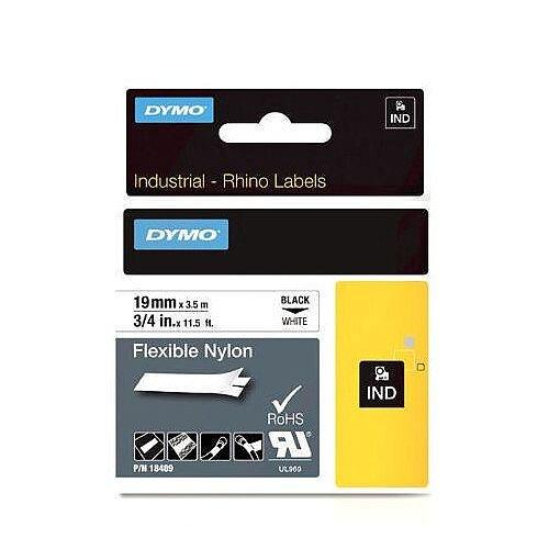 Dymo RhinoPRO 18759 Industrial Tape 19mm White S0718120