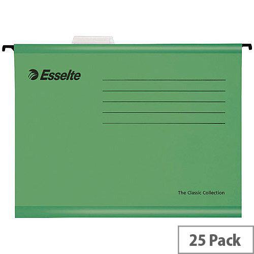 Esselte Green Pendaflex Suspension File A4 Pack of 25