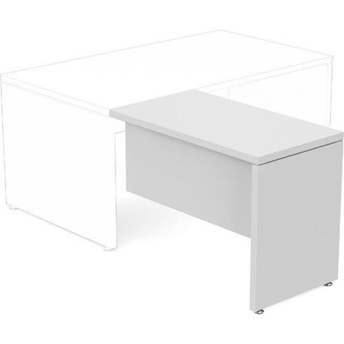 Fermo Executive Return Desk Add-On Unit White