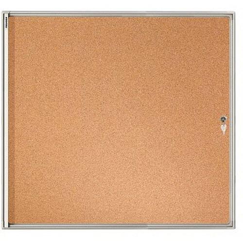 Franken Flat Board Display Case ValueLine Cork 6 x A4 FSKA6