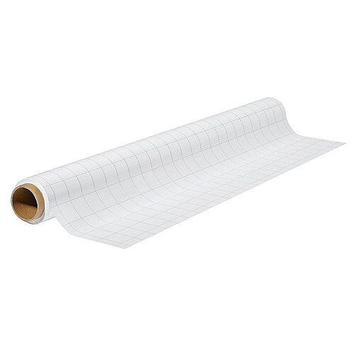 Franken ValueLine Chart Write-on Film Polypropylene 60 x 80cm 25 Sheet Squared White SF2011
