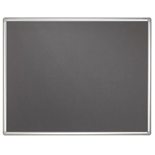 Double Sided Felt Notice Board Grey &Whiteboard 1200 x 900mm For Franken Pro Partition System - Feet are not Included, Available to Buy Separately