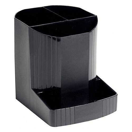 Pen Pot Holder Black Exacompta Forever 675014D