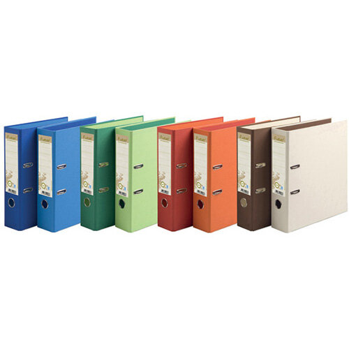 Forever PremTouch Lever Arch File A4 80mm Assorted Pack of 10 53980E