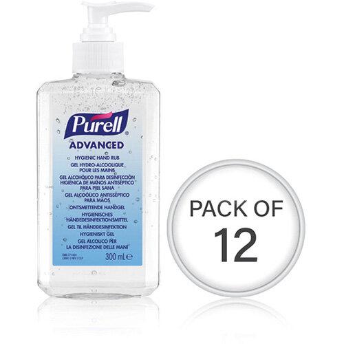 Purell Hand Rub Bottle 300ml Pack Of 12 9263-12-EEU00