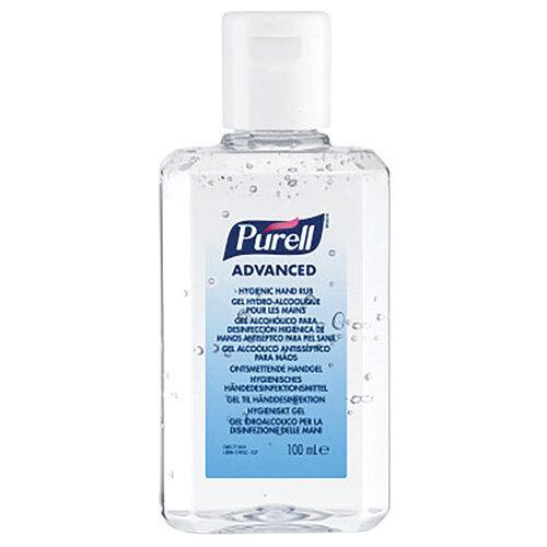 Purell Hand Rub 100ml Pack of 24 9661-24-EEU00
