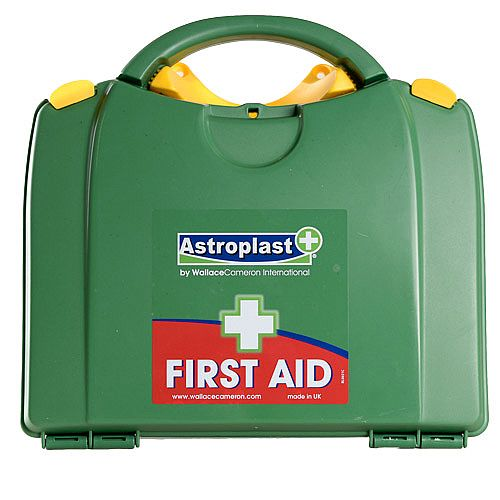 Astroplast Green Box HSA 1-10 Person First Aid Kit Incl. Eyewash &Burns