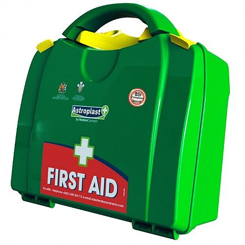 Green Box BS-8599-1 Large Up to 20 People First Aid Kit with Extra Plasters Induced 1001073P