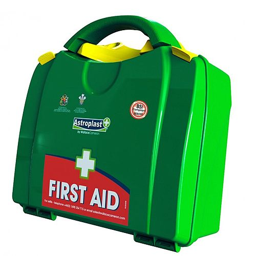 BSI Large First Aid Kit Food Hygiene Conforms BS8599-1 Standards Up to 20 Person 1003041