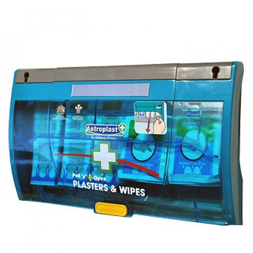 Pull 'n' Open Plaster Dispenser Washproof &Wipes 1007027