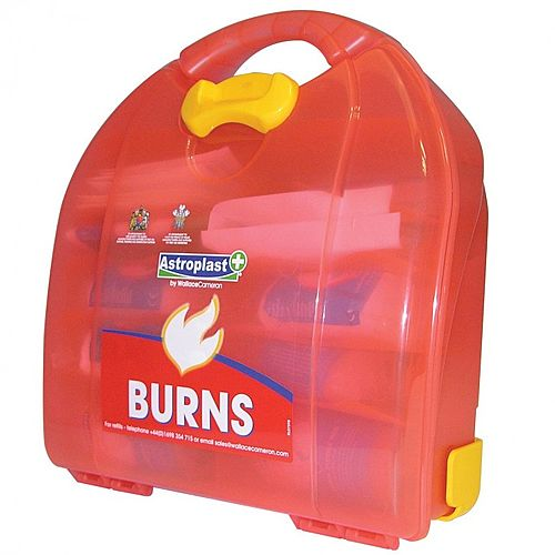 Astroplast Mezzo Burns Dispenser First Aid Kit Up to 10 Person 1009004