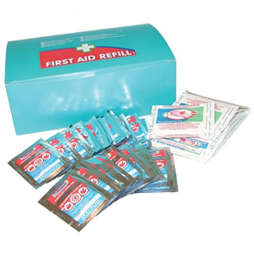 Burns Gel &Burns Lint Pads First Aid Kit Refill  1009006