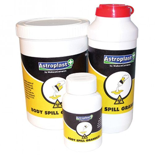 Super Absorbent Body Fluid Granules 500g Shaker 1011037
