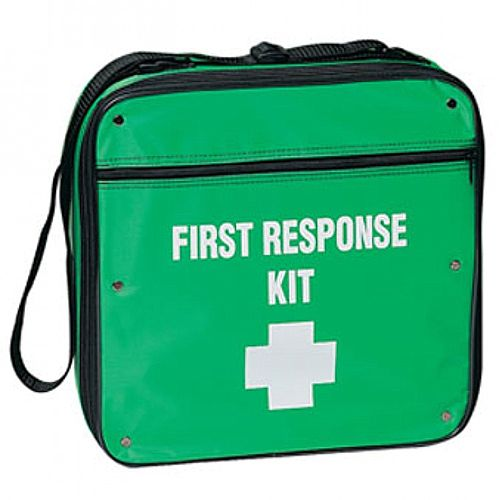 First Response First Aid Kit Pouch Bag Up to 10 Person