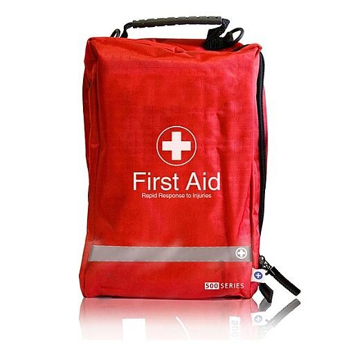 First Aid Kit School Yard Minor Injuries Compact Grab Bag For 1-10 People 1025075