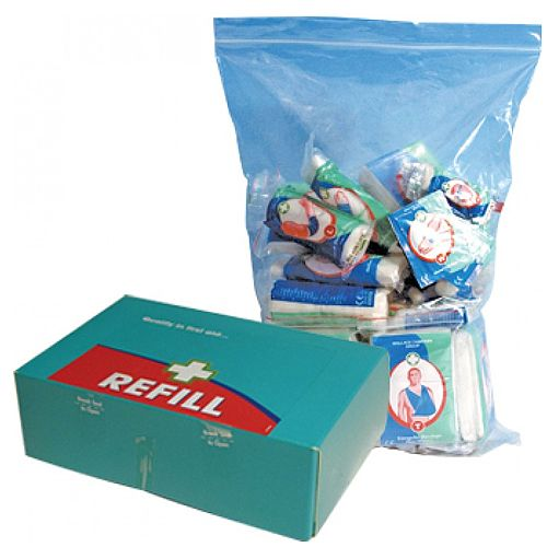 HSE First Aid Kit Refill 1-50 Persons Food Hygiene 1035018