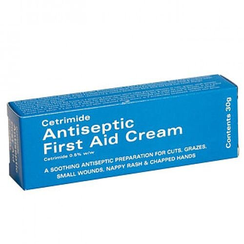 Cetrimide Antiseptic First Aid Cream 30g 1603003
