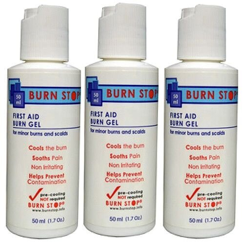 Water-Jel Burn Stop Sterile Burn Gel 50ml Pack of 3 2206010