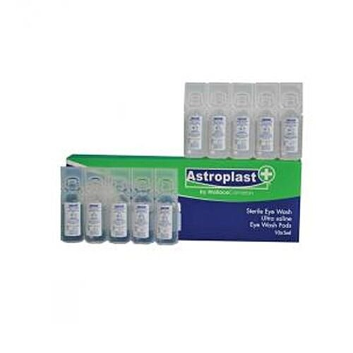 Astroplast Eye Wash Sterile Saline Mini Pods 10 x 5ml