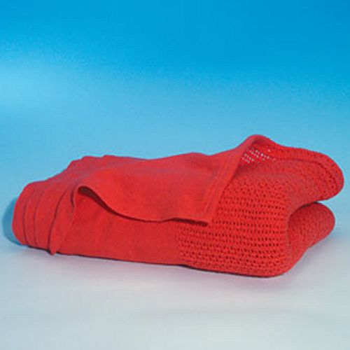 Ambulance Style Red Cotton First Aid Blanket Pack 1 4608001