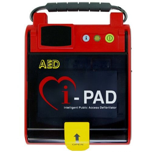 CU Medical Systems iPAD Saver NF1201 Fully Automatic Defibrillator - Rugged, Durable Design with Easy Grip Integrated Handle - Can be Used by Minimally Trained Individuals