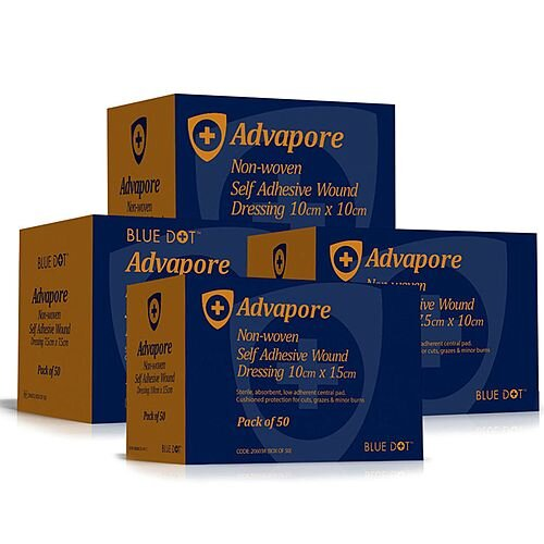 Advapore Adhesive Wound Dressing 6cm x 7cm Pack of 50