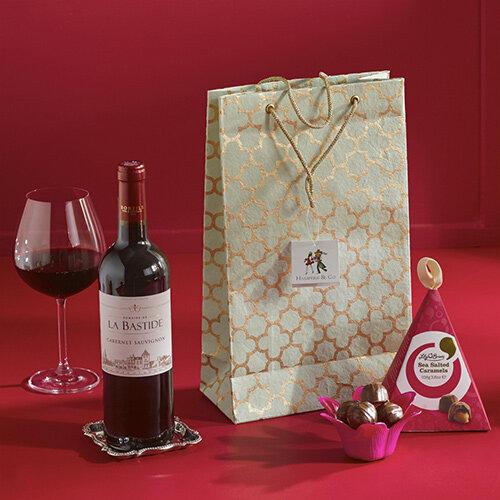 Red Wine &Chocolates Gift Bag