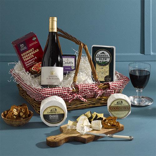 The Irish Cheese &Wine Hamper