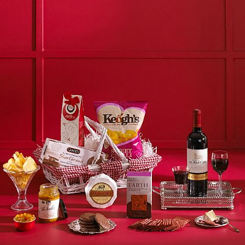 Life's Little Luxuries Gift Basket - Ideal as a Christmas Gift For Friends, Family, Loved Ones &More!