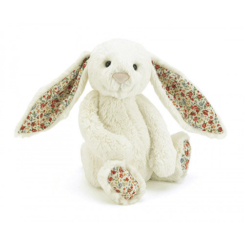 Jelly Cat Blossom Bashful Cream Medium Bunny
