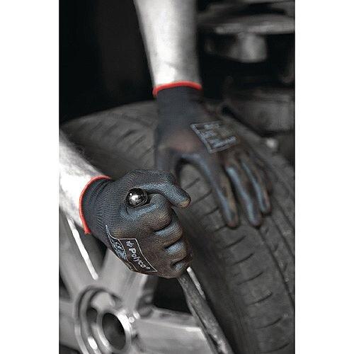 Polyco Matrix P Grip Gloves 9 Black 403-MAT