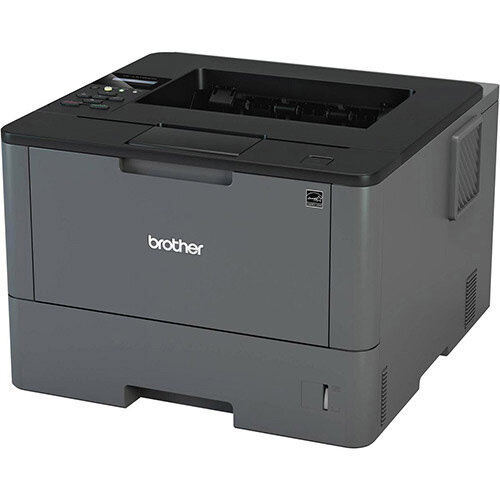 Brother HL-L5100DN Business Mono Laser Printer - Automatic 2-sided printing - Fast print speeds of up to 40ppm - High speed wired and USB 2.0 connectivity