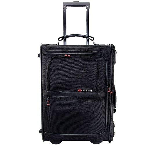 Monolith Upright Pilot Case Nylon Black Briefcase 2383