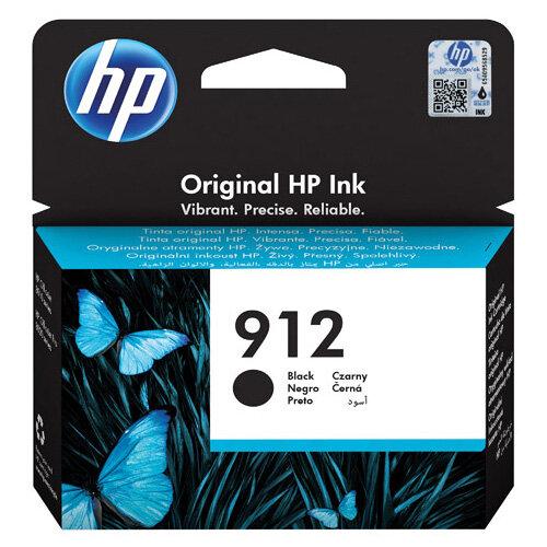 HP 912 Ink Cartridge Black 8.29ml 3YL80AE