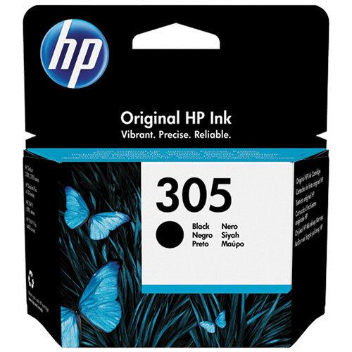 HP 305 Original Ink Cartridge Black 3YM61AE
