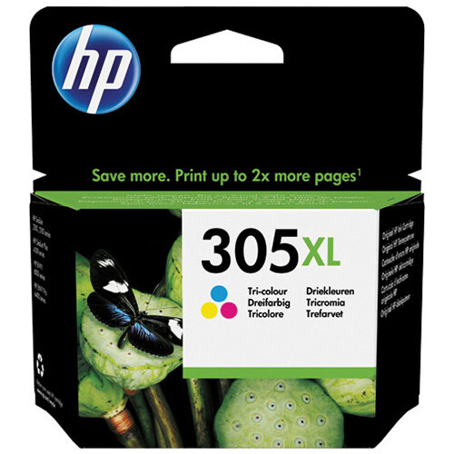 HP 305XL High Yield Original Ink Cartridge Tri Colour 3YM63AE