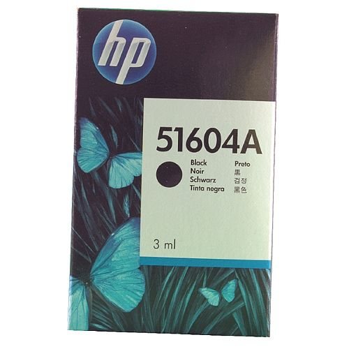 HP Black Inkjet Cartridge 51604A