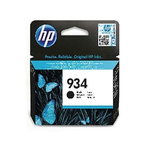 HP 934 Original Ink Cartridge Black C2P19AE