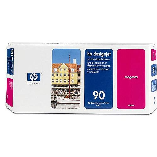 Hewlett Packard Magenta No 90 Inkjet Printhead and Cleaner C5056A