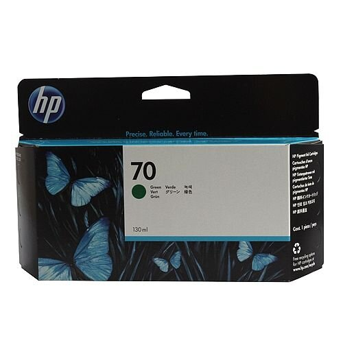 Hewlett Packard No70 Inkjet Cartridge 130ml Green C9457A