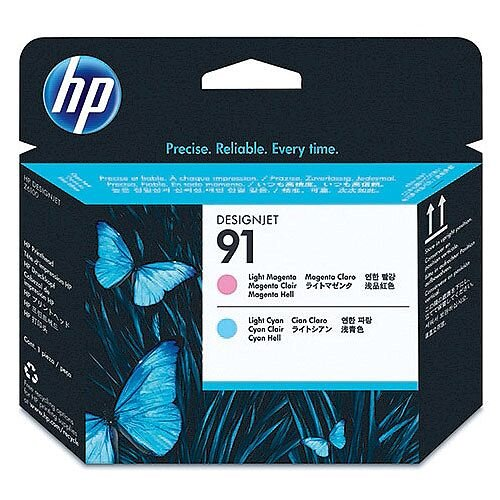 Hewlett Packard No 91 Light Magenta/Light Cyan Printhead C9462A